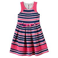 Girls 4-6x Nanette Sleeveless Striped Dress