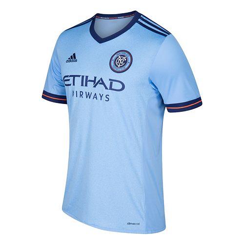 Men's adidas New York City FC Wordmark MLS Jersey