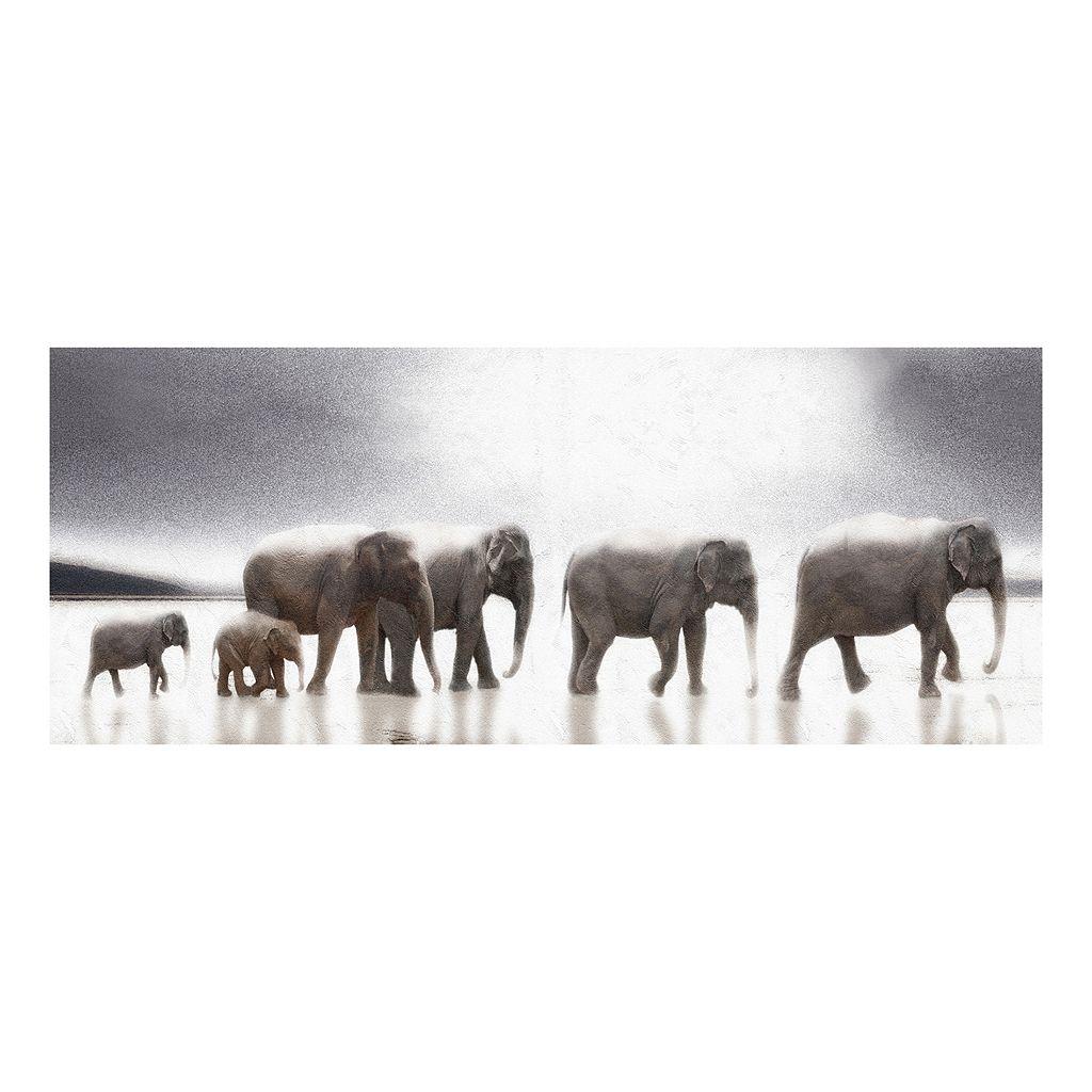 Mirage Elephant Canvas Wall Art