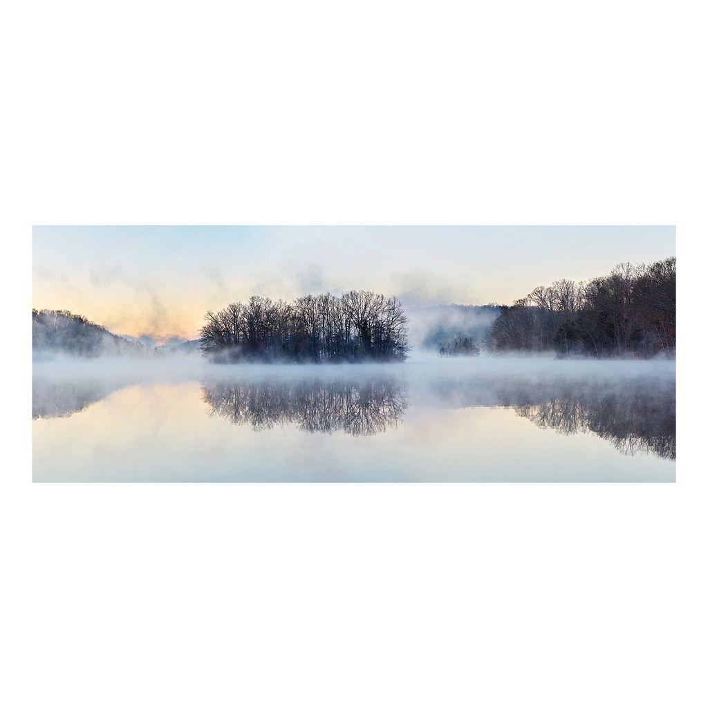 Misty Pond 2061 Canvas Wall Art