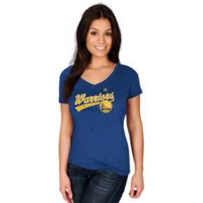 Women's Majestic Golden State Warriors Tee