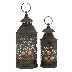 Updated Tradition Lantern Table Decor 2-piece Set