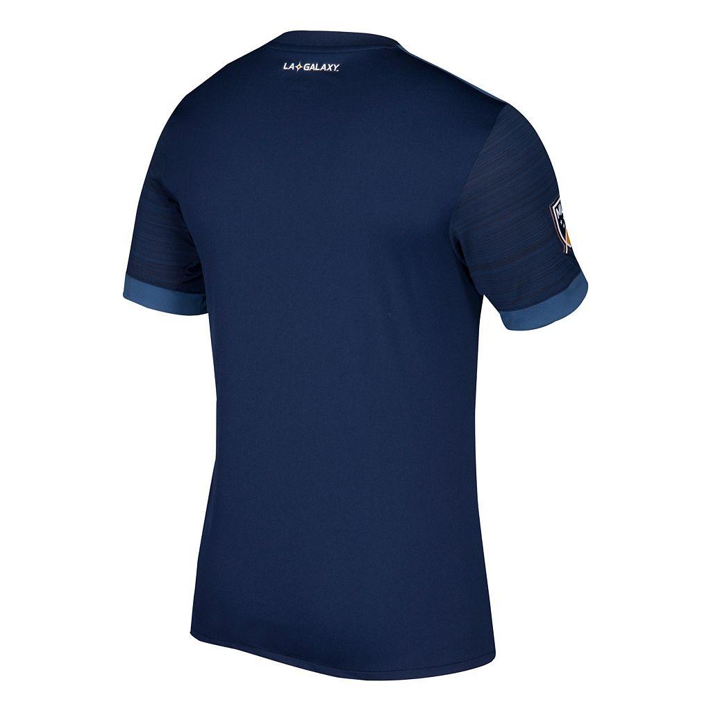 Men's adidas Los Angeles Galaxy Wordmark MLS Jersey