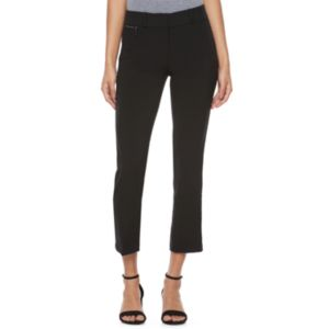 Juniors' Candie's® Audrey Zipper Ankle Pants