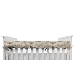 Lolli Living Aeroplanes Crib Railing Cover
