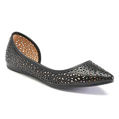 Apt. 9 Satisfy Women's Pointed-Toe D'Orsay Flats by
