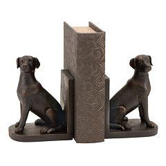 Dog Bookends 2-piece Set