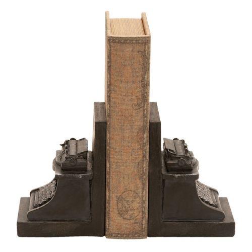 Typewriter Bookends 2-piece Set