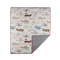 Lolli Living Aeroplanes Quilted Comforter