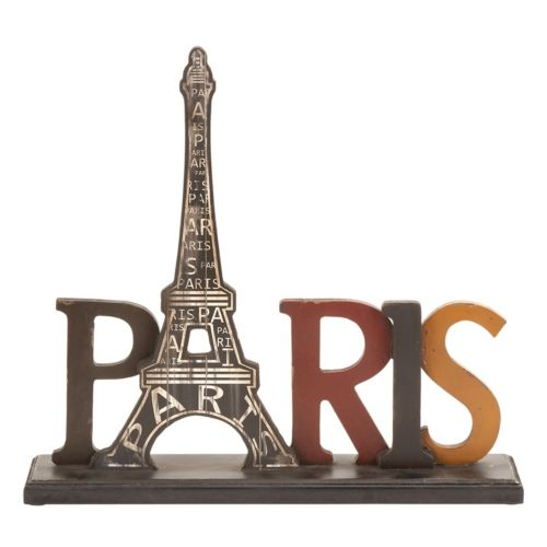 """Paris"" Eiffel Tower Table Decor"