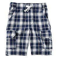 Baby Boy Carter's Plaid Midtier Cargo Shorts