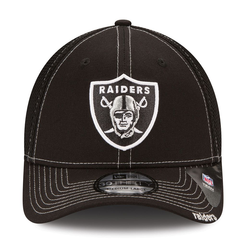Adult New Era Oakland Raiders 39THIRTY Fitted Cap