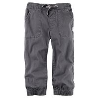 Baby Boy Carter's Twill Utility Jogger Pants