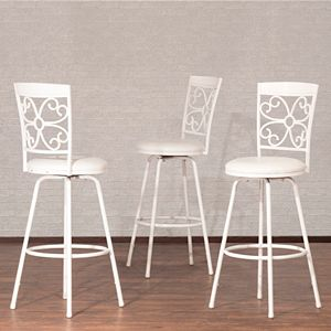 Hillsdale Furniture Woodland Swivel Stool 3-piece Set