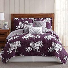 Peony Garden 6-piece Quilt Set