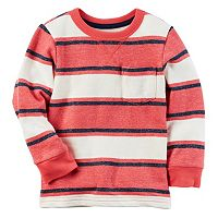 Boys 4-8 Carter's French Terry Striped Pullover