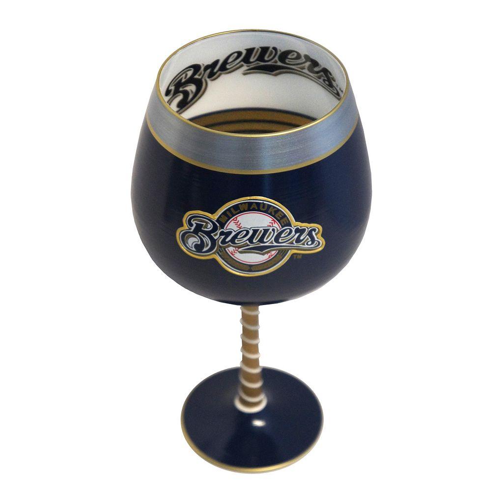 Boelter Milwaukee Brewers Artisan Wine Glass