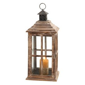 Rustic Lantern Candle Holder