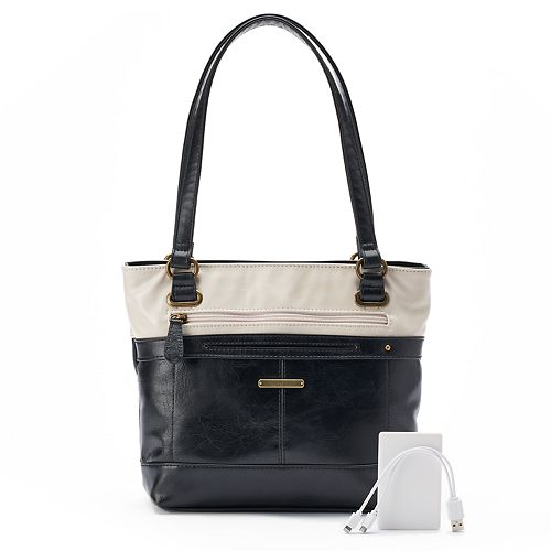 Stone & Co. Plugged In Phone Charging Tote