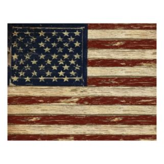 Old Glory Canvas Wall Art