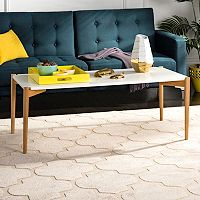 Safavieh Two-Tone Rectangular Coffee Table