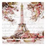 Paris Springtime Canvas Wall Art