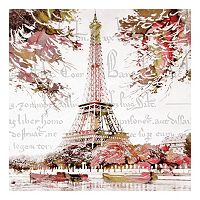 Paris Springtime Canvas Wall Art