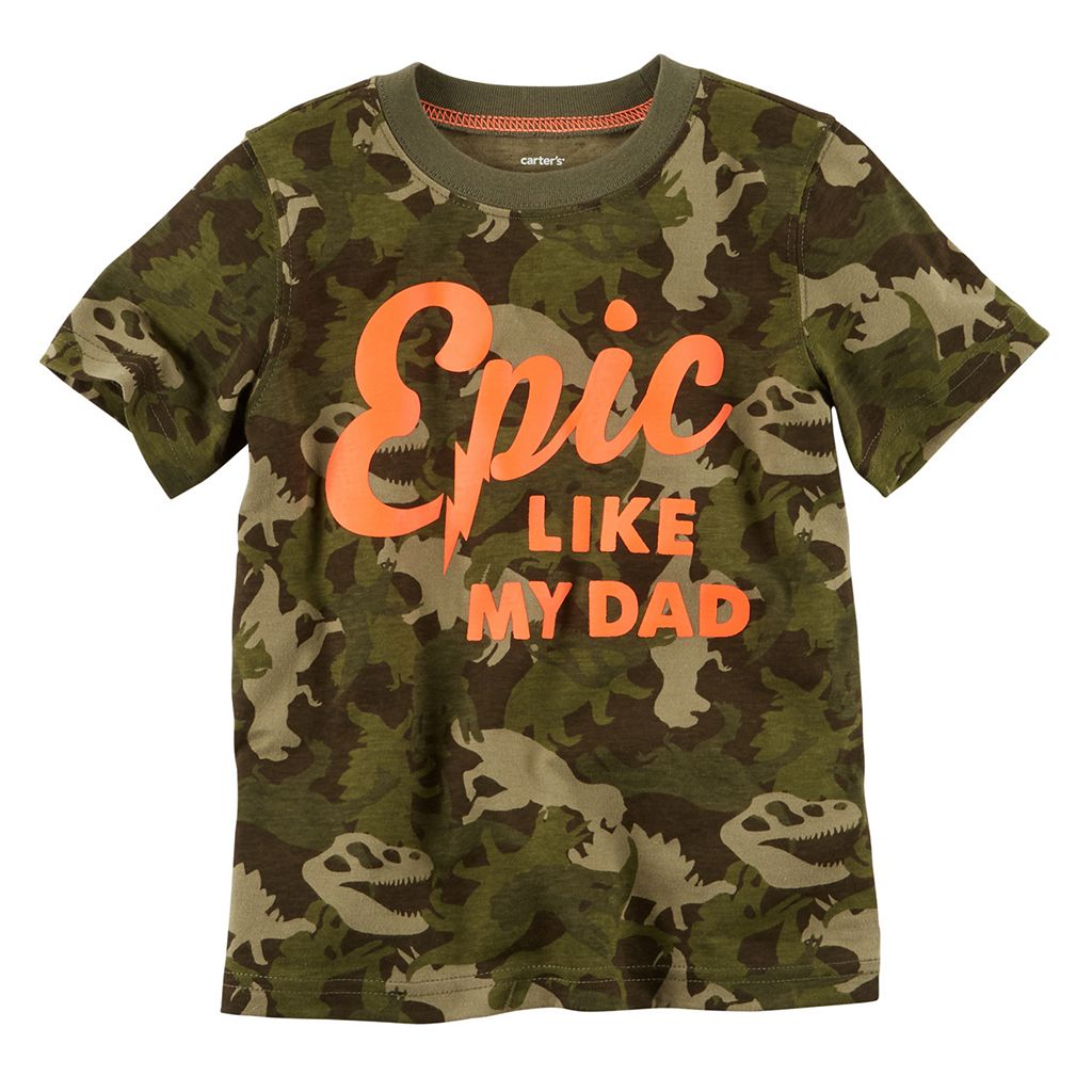 Baby Boy Carter's Short Sleeve Graphic Tee