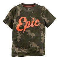 Boys 4-8 Carter's Short Sleeve Graphic Tee