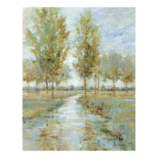 River Home I Canvas Wall Art