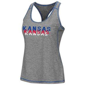 Women's Campus Heritage Kansas Jayhawks Race Course Tank
