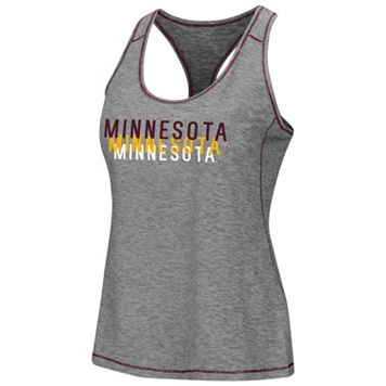 Women's Campus Heritage Minnesota Golden Gophers Race Course Tank