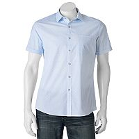 Men's Apt. 9® Patterned Slim-Fit Stretch Button-Down Shirt