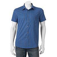Men's Apt. 9® Patterned Slim-Fit Stretch Button-Down Shirt