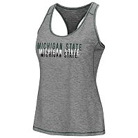 Women's Campus Heritage Michigan State Spartans Race Course Tank