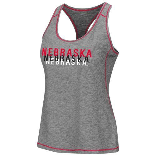 Women's Campus Heritage Nebraska Cornhuskers Race Course Tank