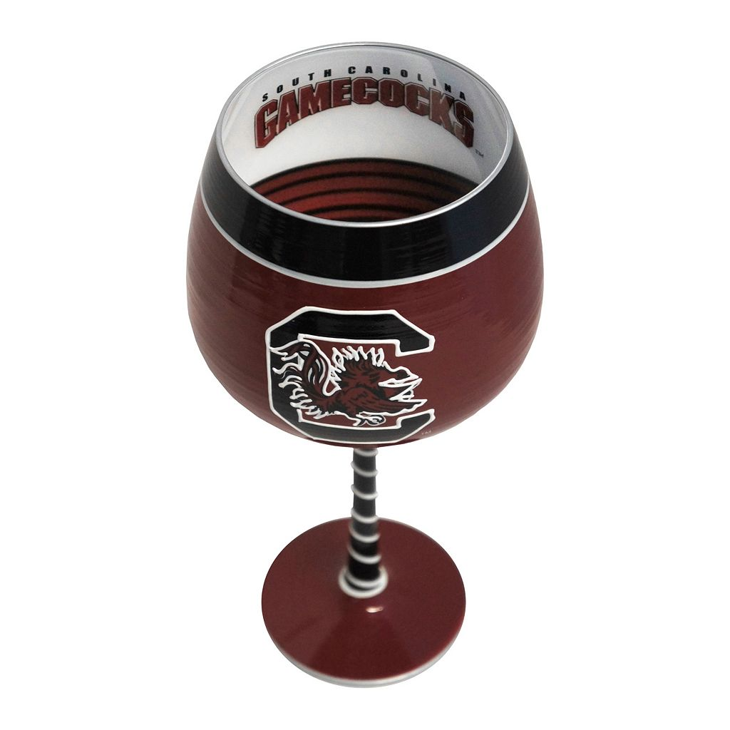 Boelter South Carolina Gamecocks Artisan Wine Glass