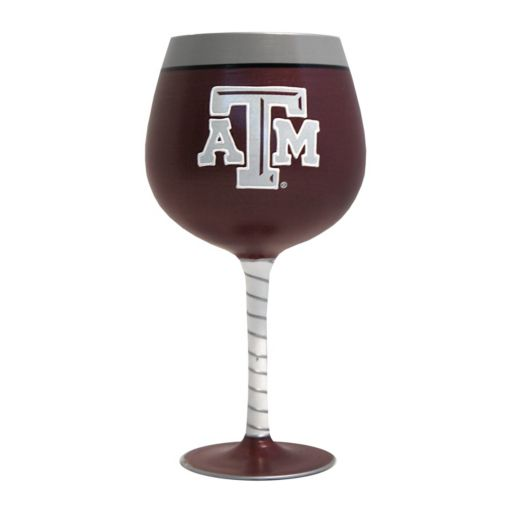 Boelter Texas A&M Aggies Artisan Wine Glass