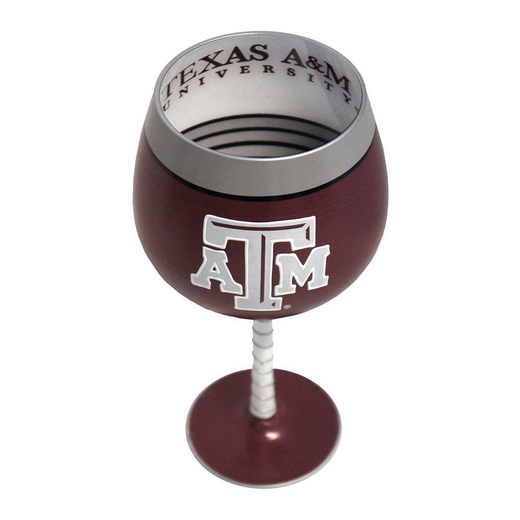 Boelter Texas A&M Aggies Artisan Wine Glass