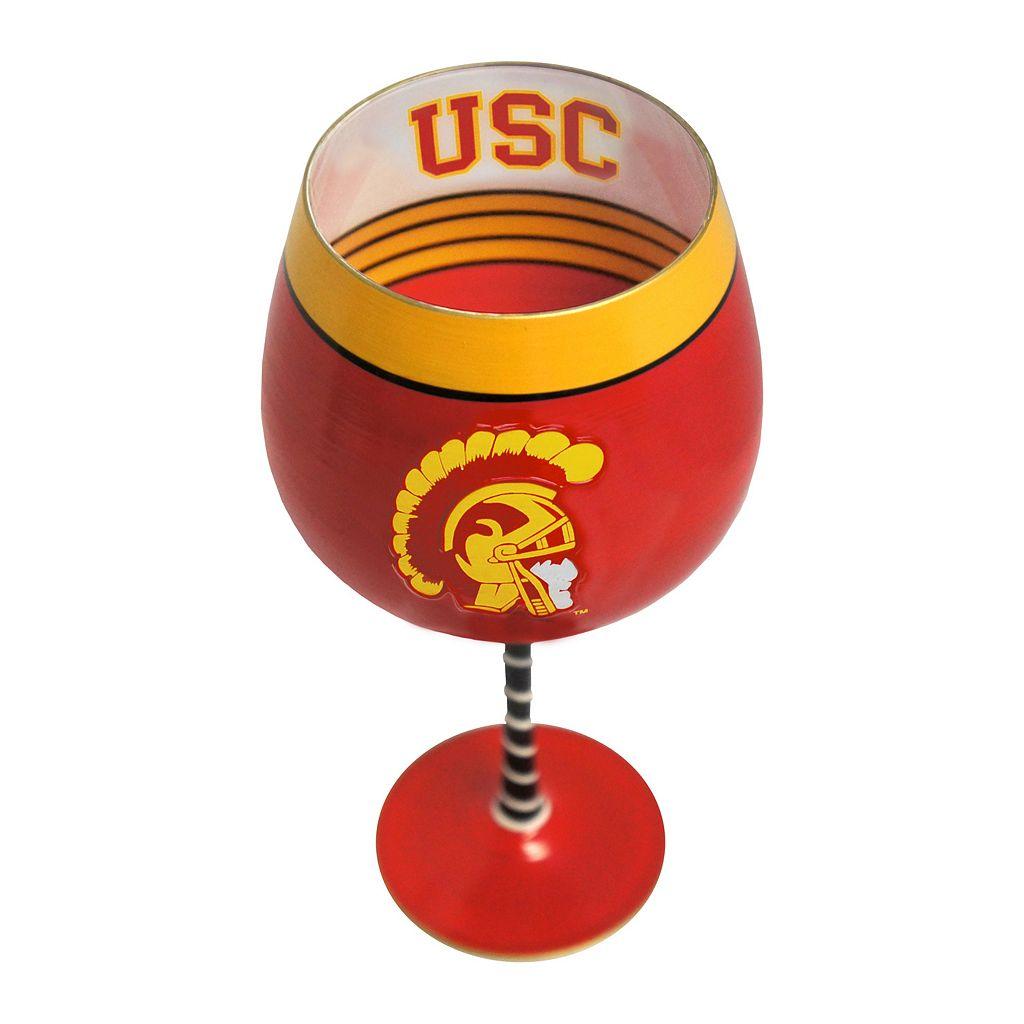 Boelter USC Trojans Artisan Wine Glass