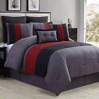 VCNY 7-piece Karmine Comforter Set