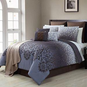 VCNY 15-piece Damask Comforter Set