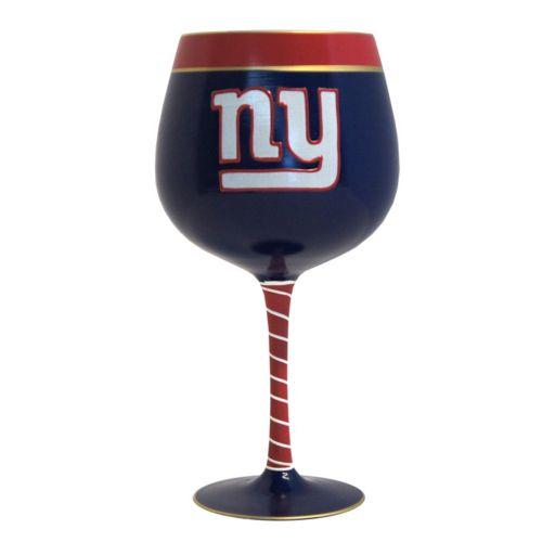 Boelter New York Giants Artisan Wine Glass