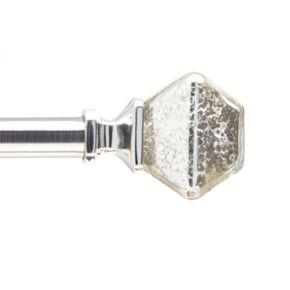 Peri Mercury Glass Adjustable Curtain Rod