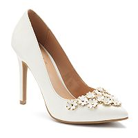 LC Lauren Conrad Petal Women's High Heels