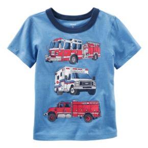 Baby Boy Carter's Short Sleeve Vehicle Graphic Tee