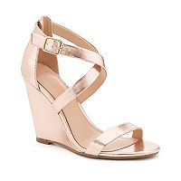 LC Lauren Conrad Flourish Women's Dress Wedges
