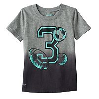 Toddler Boy Jumping Beans® Play Cool Dip-Dyed Sport Graphic Tee