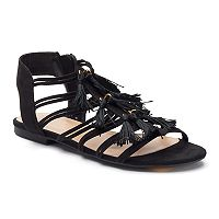 LC Lauren Conrad Women's Quarter Strap Sandals