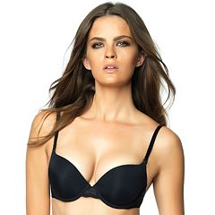 3491e05360 Jezebel Bra  Enchanted Add-A-Cup Push-Up Bra 150566. Almost Nude Black